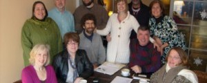 Steering Committee in the First Fair Trade Town: Media, PENNSYLVANIA!