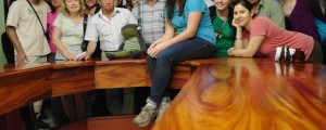 Last year's delegation of Fair Trade Town orgnaizers at CoopeAgri in Costa Rica!