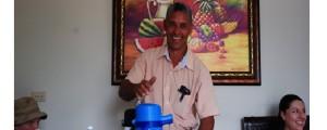 Hector Romero, the tour coordinator for CONACADO.