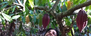 Founder Zak Zeildman at the source of their cacao in Peru.
