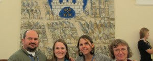 Part of the US delegation in Poznan City Hall.