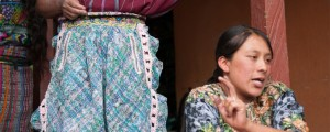 Gloria is the leader of a asket weaving cooperative in Guatemala.