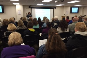 Seventy-eight people attended the Human Trafficking Awareness presentation at the Fond du Lac Public Library on January 11, 2016