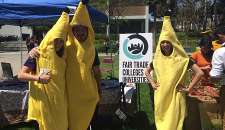 Celebrating LMU becoming a Fair Trade University