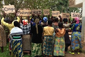 The Panzi Foundation They do not show their faces out of fear and shame. Please drink Congo Coffee from Equal Exchange