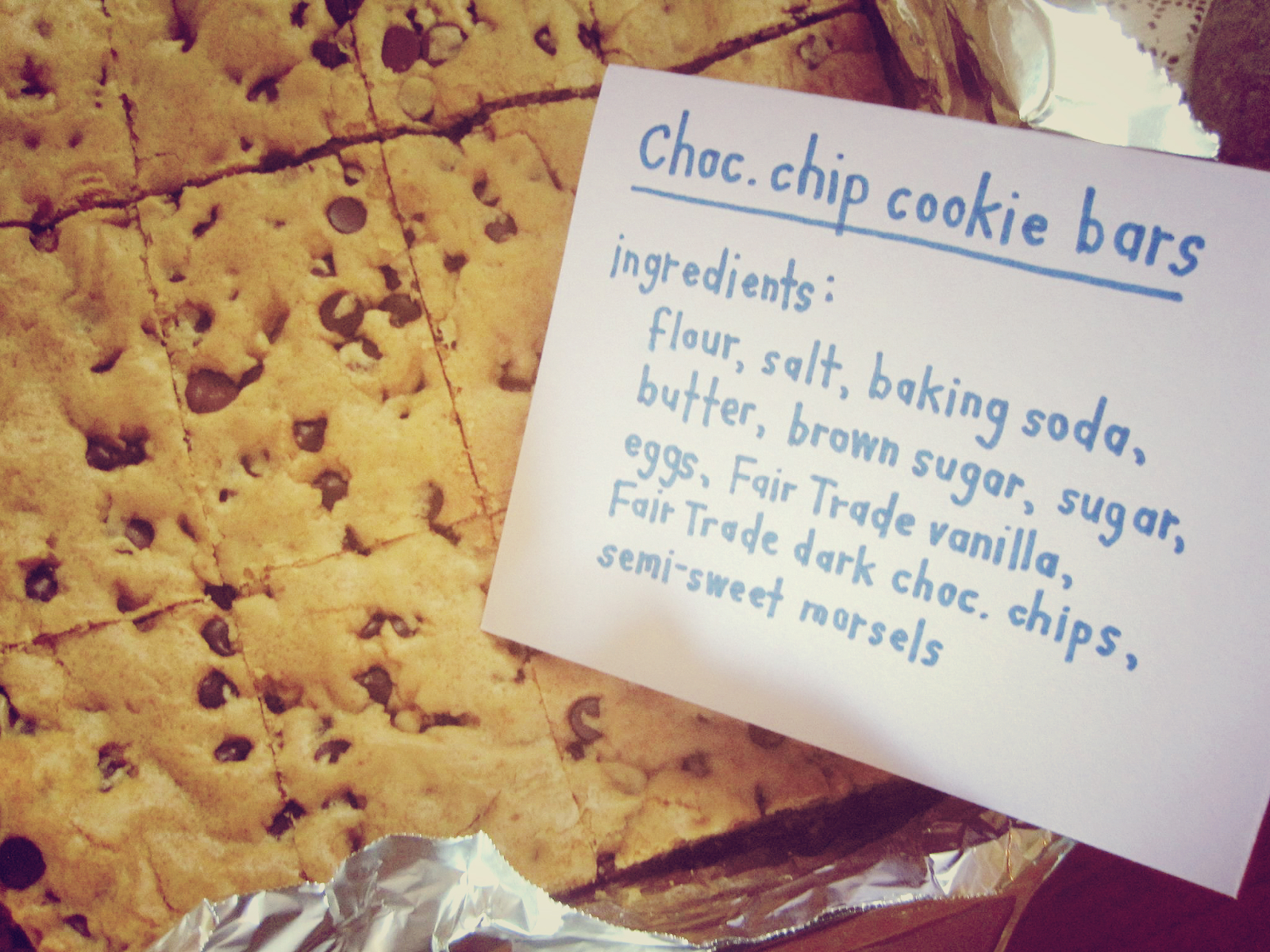 media - cookie bars