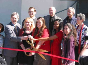 Pasadena ribbon cutting