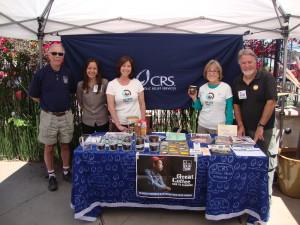 CRS Fair Trade Tabling