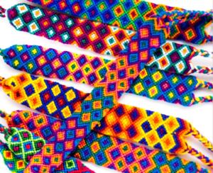 Mayan Hands bracelets