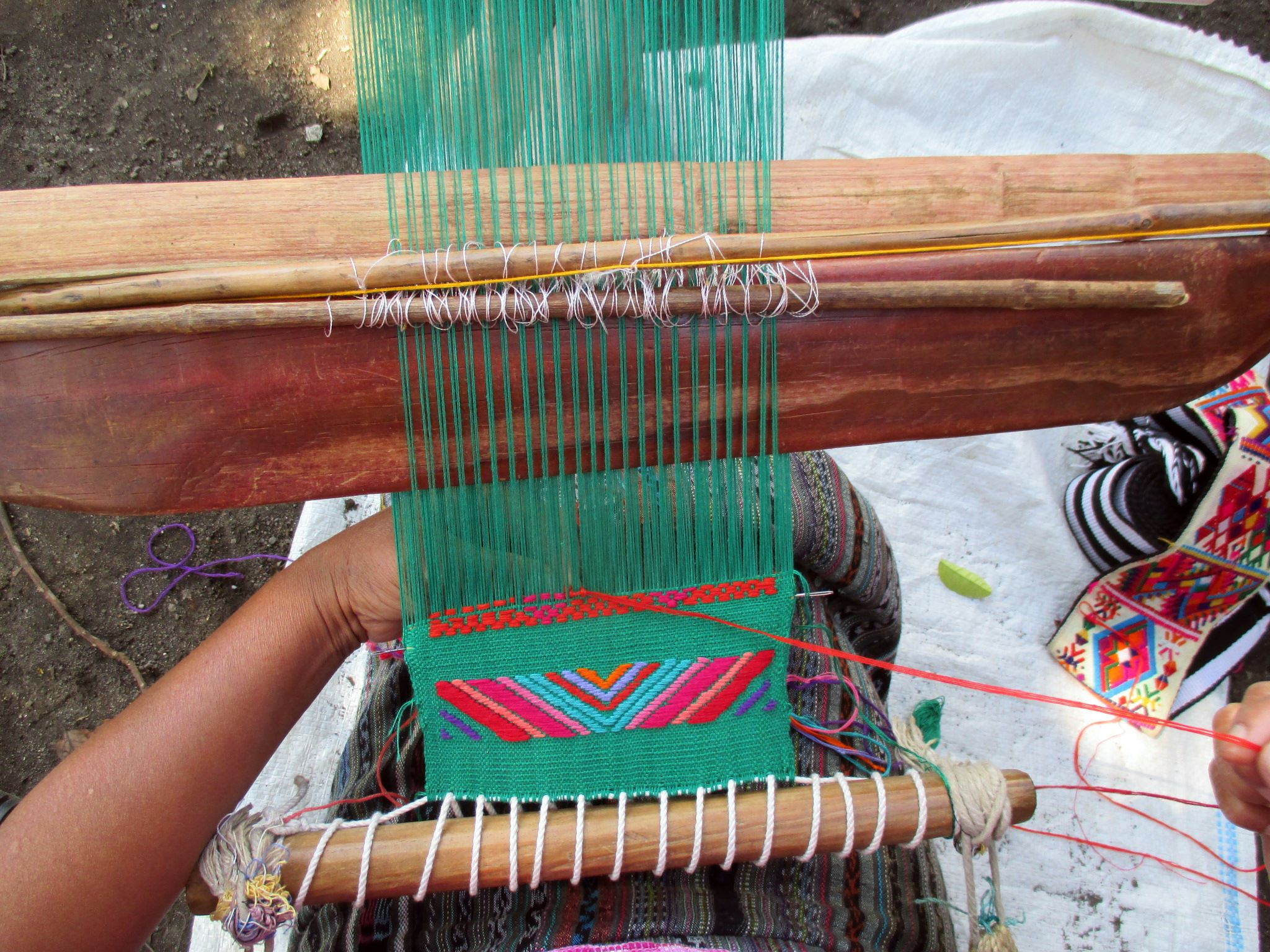 Mayan Hands weaving